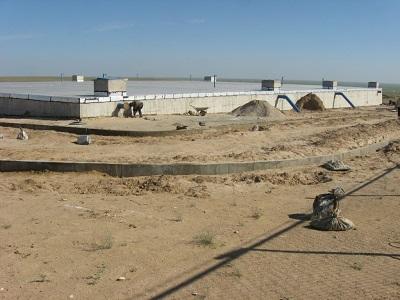 Andkhoy Water Supply from Amudarya River